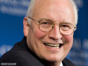 Vice President Dick Cheney and his wife will host the Bidens Thursday.