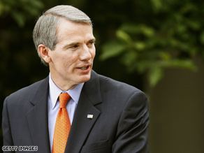Rob Portman played the part of Obama in McCain's debate prep.