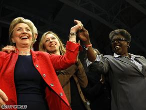 Tubbs Jones was big backer of Hillary Clinton.