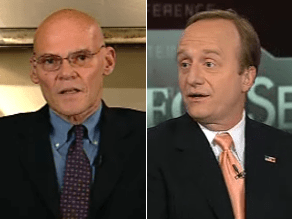 Begala and Carville said some Clinton backers will be angry.