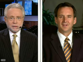 Minnesota Gov. Tim Pawlenty told CNN's Wolf Blitzer that the Republican VP candidate will be able to handle Joe BIden.