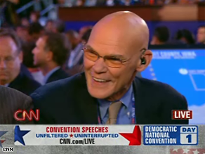 Carville says the Democrats are hiding the party's message.