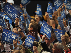 'Country First' will be the theme of the Republican convention.