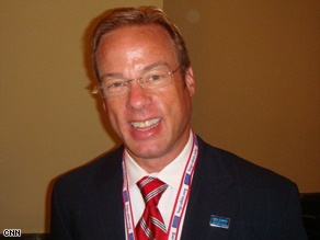 Log Cabin Republican member David Valkema, a director of a fine arts foundation in Chicago Illinois.