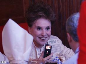 Cindy Adams spoke with CNN.