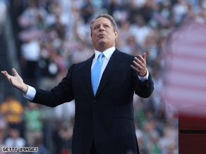 Gore isn't heading back to the executive branch in an Obama administration.