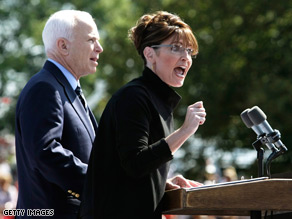 A new RNC ad touts McCain-Palin record on government spending.