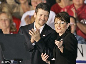 Gov. Sarah Palin and her 'First Dude' Todd Palin