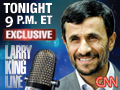 Ahmadinejad Exclusive