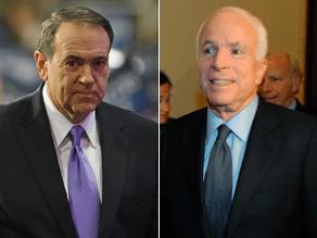 Huckabee thinks McCain made a big mistake.
