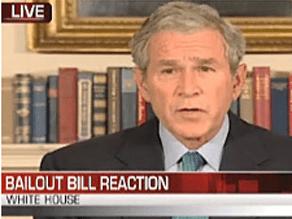 Bush urged Congress to pass a new bill.