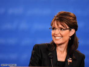 Palin told Katie Couric last month she considers herself a feminist.