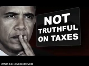 The McCain and Obama campaigns released new television ads Friday that focused on taxes.