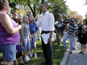 Obama campaigns in Holland Ohio