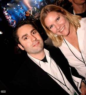 AC360° Producers Chuck Hadad and Kay Jones enjoy the show.