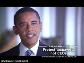 The Obama-Biden campaign will roll out a new ad in key states Sunday.