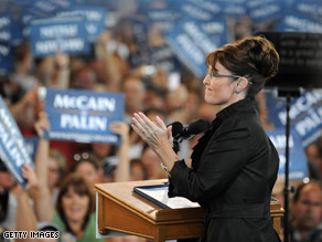 Palin blasted the media for focusing on the $150,000 wardrobe story.