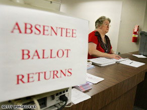 Some voters still haven't received absentee ballots.