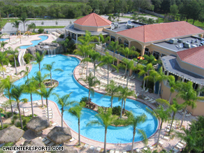 Caliente Resorts, a clothing optional resort in Land O' Lakes, Florida