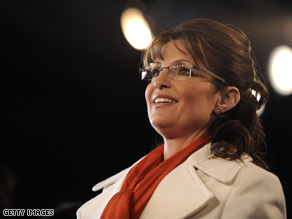 Palin takes your questions Wednesday on CNN.