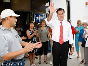 Mitt Romney is set to campaign for fellow Republican Georgia Sen. Saxby Chambliss Friday.