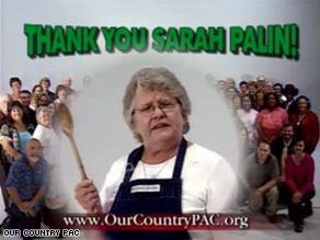 A pro-Palin ad campaign hits the airwaves this week.