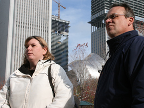 Kim and Mike Clay think that now that Chicago has a president of the United States, the world may start to think of it differently.