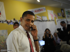 Pre-election Obama makes a slightly smoother call.