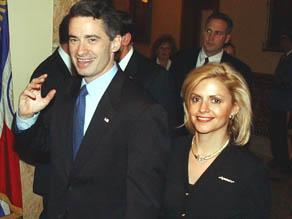 James McGreevey with Dina Matos during better days