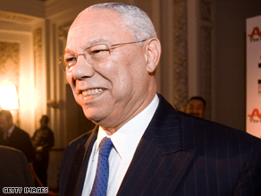 Powell says the GOP tried to use 'polarization for political advantage.'