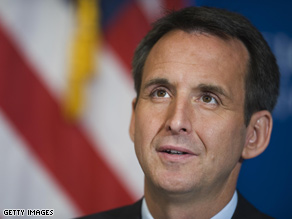 Pawlenty is weighing an interim Senate appointment, says his spokesman.