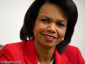 Secretary of State Condoleezza Rice says 'there is no greater honor than to serve this country.'