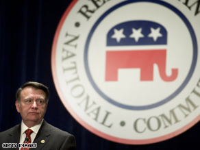 RNC chair Mike Duncan faces a tough race to keep the top spot.