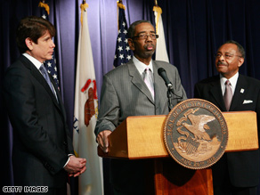 Rush spoke at Blagojevich's press conference revealing the Burris pick.