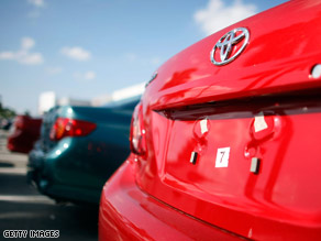 Federal regulators announced the recall of 110,000 Toyota pickup trucks in 20 U.S. states and the District of Columbia.