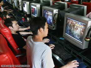 Running out of space? Web cafe users in China