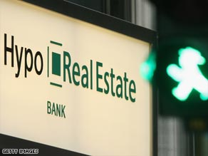 The German government has made an offer which would see Hypo Real Estate bank nationalised.