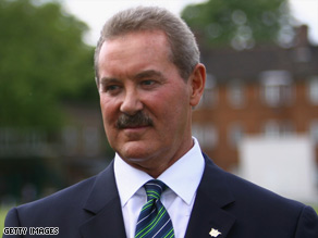 Allen Stanford cried during the interview when discussing his fall from grace.