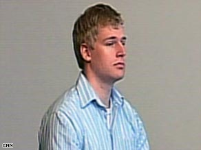 Medical student Philip Markoff, 23, appears in court Tuesday in Boston, Massachusetts.