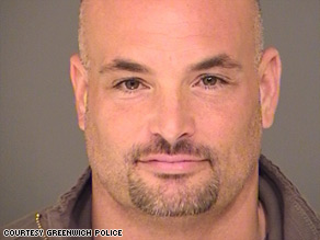Eric Naposki, a former football player, has been charged in the killing of an ex-lover's boyfriend.