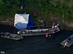 Partial skeletal remains were found on the south bank of the Des Plaines River near Channahon, Illinois.