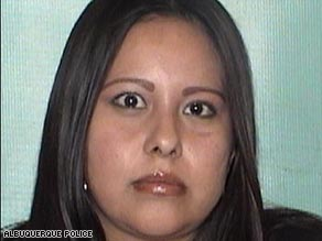 Tiffany Toribio, 23, was arrested in connection with the death of a boy buried at a playground.