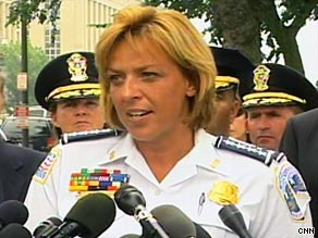At a news conference Thursday, D.C. Police Chief Cathy Lanier says James von Brunn will be charged with murder.