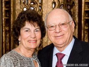 Sel Hubert, seen here with his wife, says education is the best weapon against bigotry.