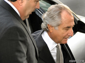 Disgraced financier Bernard Madoff was sentenced to 150 years in prison today.