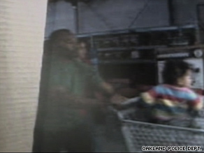 Police on Tuesday released Wal-Mart surveillance video footage of Hasanni Campbell and his foster parents.