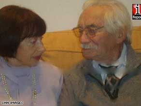 Long lives: Friedel and Robert Borisewitz are today 92 and 97, a shocking fact for most.