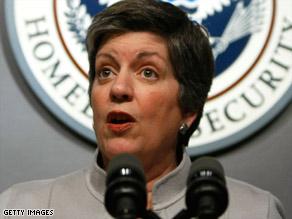 Homeland Security Secretary Janet Napolitano said swine flu is no more danerous than the regular flu virus.