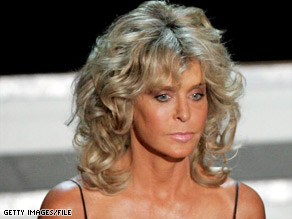 Farrah Fawcett, seen here in 2006, has waged a very public battle with anal cancer.