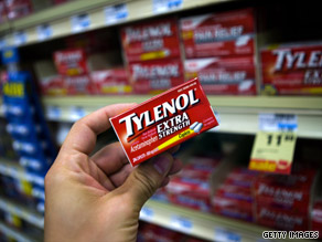 Acetaminophen, found in drugs such as Tylenol, is one of the most commonly used drugs in the United States.
